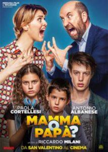 Poster Mamma o papà