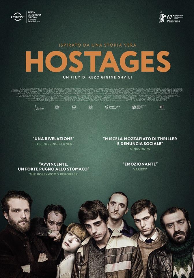 locandina hostages