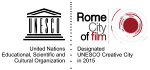 Logo UNESCO Rome City of Film