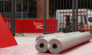 Allestimento Red Carpet